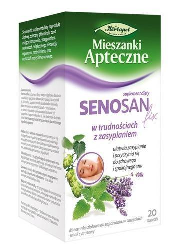 Zioła fix Senosan 20 sasz. a1,7g Herb.Lub.