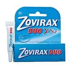 Zovirax Duo krem (0,05g+0,01g)/g 2g